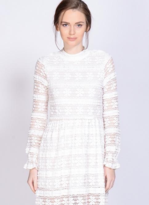 Motel Rocks Elbise Beyaz